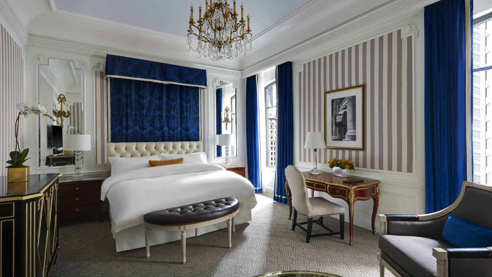 Bedroom Alarm Clock Luxury Hotel In New York City The St Regis New York